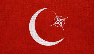 Turkey and NATO Illustration by Greg Groesch/The Washington Times