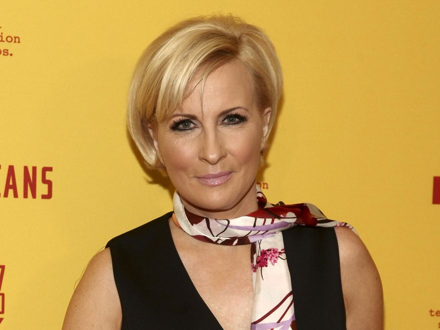 """In this Feb. 25, 2017 file photo, Mika Brzezinski attends FX's """"The Americans"""" season five premiere in New York. """"Morning Joe"""" co-host Mika Brzezinski has a 3-book deal. (Photo by Andy Kropa/Invision/AP, File)"""