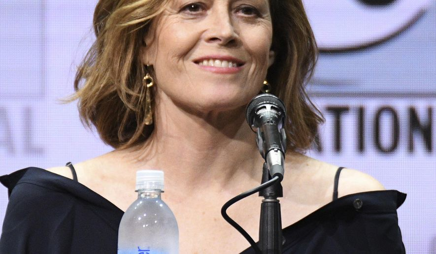 "Sigourney Weaver attends the ""Marvel's The Defenders"" panel on day two of Comic-Con International on Friday, July 21, 2017, in San Diego. (Photo by Al Powers/Invision/AP)"