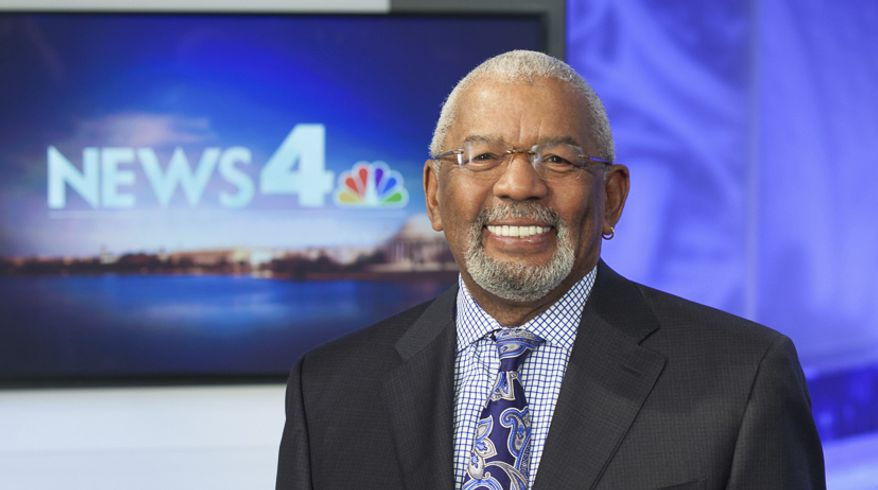 This undated photo from WRC-TV shows longtime news anchor Jim Vance. Vance died Saturday, July 22, 2017 at the age of 75, the NBC station said. Vance told viewers earlier this year that he was undergoing treatment for cancer. (Robin Fader/WRC-TV via AP)