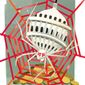 Illustration on crony capitalism by Linas Garsys/The Washington Times