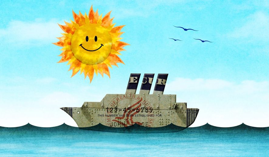 Righting the Ship of Security Illustration by Greg Groesch/The Washington Times