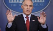 In this June 2, 2017, file photo, EPA Administrator Scott Pruitt speaks to the media during the daily briefing in the Brady Press Briefing Room of the White House in Washington.  (AP Photo/Pablo Martinez Monsivais, File) **FILE**