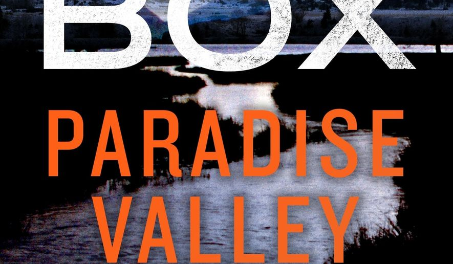 """This cover image released by Minotaur shows """"Paradise Valley,"""" a novel by C.J. Box. (Minotaur via AP)"""