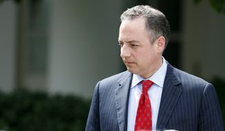 White House Chief of Staff Reince Priebus was sidelined even before Anthony Scaramucci came on board, a West Wing source said. (Associated Press)