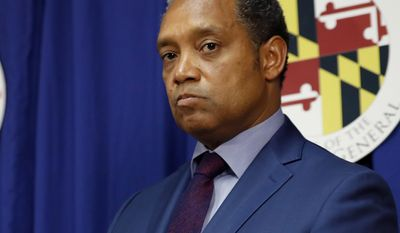 """""""State attorneys general almost never announce the existence of investigations before they are completed, but the opioid crisis is a uniquely dire situation,"""" Attorney General Karl Racine said in a press release Monday. (AP Photo/Alex Brandon, File)"""