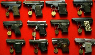 A federal appeals court this year blocked a District of Columbia law that makes it difficult for gun owners to get concealed-carry permits by requiring them to show that they have a good reason to carry a weapon. (Associated Press/File)