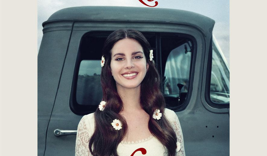 """This cover image released by Interscope Records shows """"Lust for Life,"""" the latest release by Lana del Rey. (Interscope Records via AP)"""