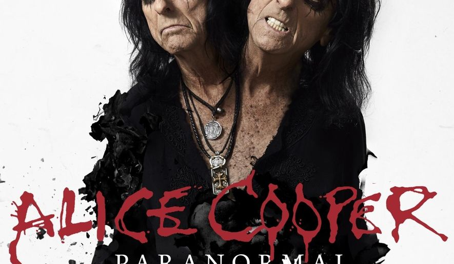 """This cover image released by earMUSIC shows """"Paranormal,"""" the latest release by Alice Cooper. (earMUSIC via AP)"""