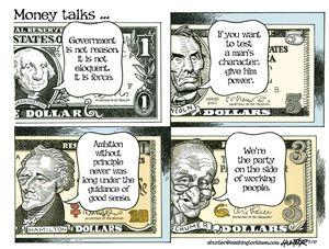 Money talks ...