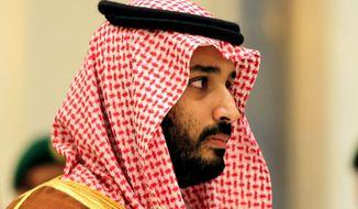 Saudi Crown Prince Mohammed bin Salman    Associated Press photo