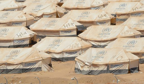 U.N.Refugee tents in Kurdistan. (Photo Credit:  Kurdistan Iraq Tours LLC/Tour  Guide)