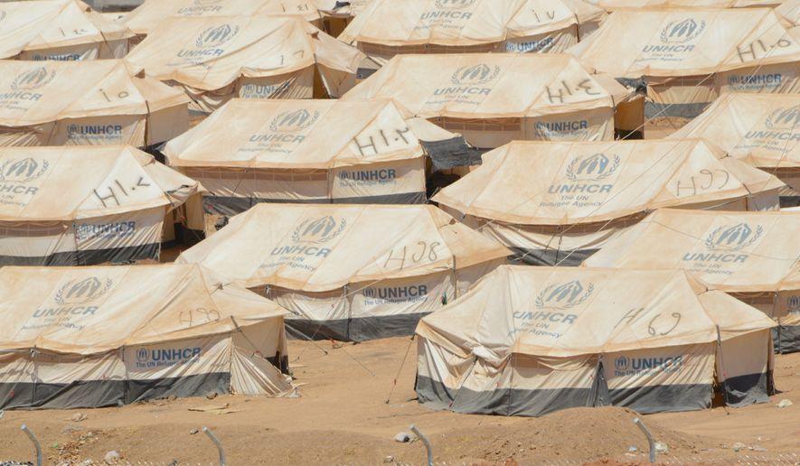 U.N.Refugee tents in Kurdistan. (Photo Credit:  Kurdistan Iraq Tours LLC/Tour  Guide)