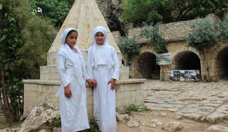 Yezidi girls. (Photo Credit:  Kurdistan Iraq Tours LLC/Tour Guide.)