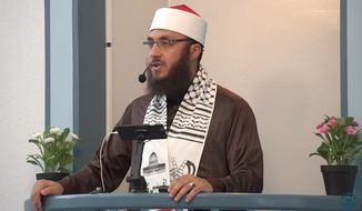 "Ammar Shahin, imam of the Islamic Center of Davis, California, said Friday at a press conference: ""To the Jewish community here in Davis and beyond, I say this deeply: I am deeply sorry for the pain I have caused."" (YouTube)"