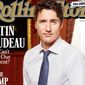 """On Sept. 17, 2017, the New York Times reported that Rolling Stone is being put up for sale by founder and publisher Jann Wenner. Shown here in this file photo is the magazine's August 2017 cover that asks readers the following question of Canadian Prime Minister Justin Trudeau: """"Why can't he be our President?"""""""