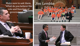 Jim Lembke, a former member of the Missouri House and Senate. (Photos courtesy of Donna Lembke, Jim Lembke's wife)