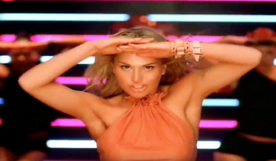 "Will Ford, a pop singer whose popularity peaked in 2001 is shown here in a still shot off of a music video for ""I Wanna Be Bad."" Miss Ford told Billboard in a July 2017 that 9/11 played a role in the ""perfect storm"" that blew away her once promising pop career. (YouTube)"