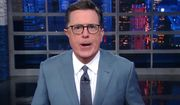 "Stephen Colbert, host of CBSs ""The Late Show,"" went off on an angry tirade against President Donald Trump on July 26, 2017, after it was announced that transgender individuals would no longer be permitted into the U.S. military. (YouTube, CBS ""The Late Show"")"