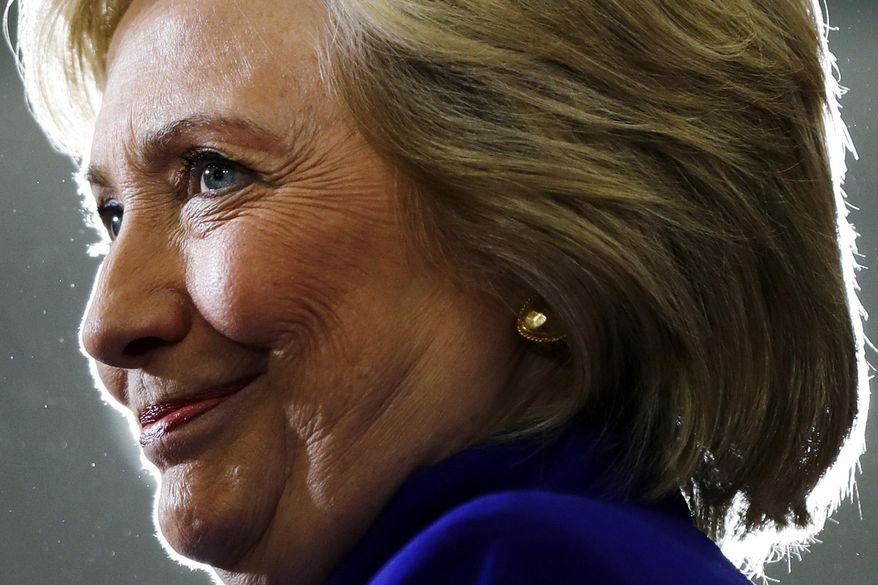 "Hillary Clinton will begin promoting her most recent work, ""What Happened,"" with a book signing Tuesday in New York City, the first stop on a tour that will stretch through the end of the year. (Associated Press/File)"