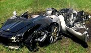 A British owner of a Ferrari 430 Scuderia crashed his new on Thursday after less than one hour of ownership. (Image: South Yorkshire Police)