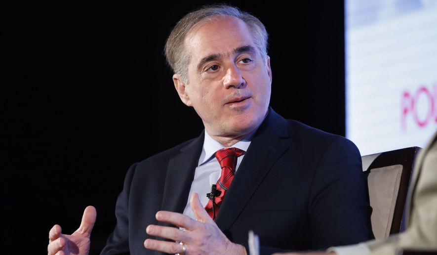 Veteran Affairs Secretary David Shulkin speaks in Washington in this June 23, 2017, file photo. (AP Photo/Jacquelyn Martin, File)