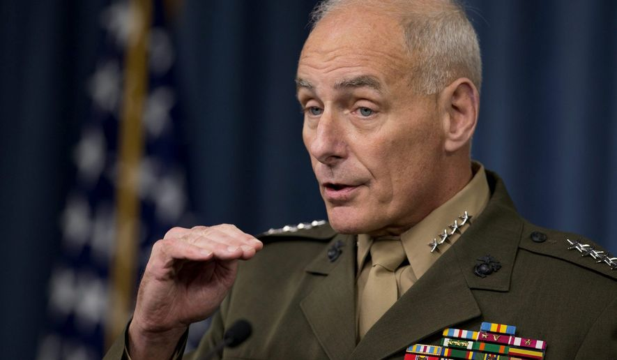 John Kelly. (Associated Press) ** FILE **