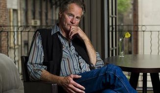 In this Sept. 29, 2011, file photo, actor Sam Shepard poses for a portrait in New York. Shepard, the Pulitzer Prize-winning playwright, Oscar-nominated actor and celebrated author whose plays chronicled the explosive fault lines of family and masculinity in the American West, died of complications from ALS, Thursday, July 27, 2017, at his home in Kentucky.  He was 73. (AP Photo/Charles Sykes, File)