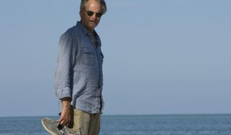 "This image released by Netflix shows Sam Shepard from the original series, ""Bloodline.""  Shepard, the Pulitzer Prize-winning playwright, Oscar-nominated actor and celebrated author whose plays chronicled the explosive fault lines of family and masculinity in the American West, died of complications from ALS, Thursday, July 27, 2017, at his home in Kentucky.  He was 73.  (Saeed Ayani/Netflix via AP)"