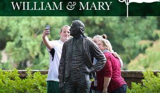 """The College of William & Mary is offering students stipends for its new """"Social Justice and Diversity Fellows"""" program. (William & Mary/Twitter)"""
