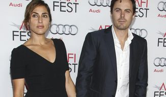 "FILE - In this Nov. 9, 2013 file photo, actor Casey Affleck and his wife Summer Phoenix appear at the 2013 AFI Fest premiere of ""Out of the Furnace"" in Los Angeles. Court records in Los Angeles show that Summer Phoenix filed for divorce on Monday, July 31, 2017, citing irreconcilable differences as the reason for the end of their more than 10 year marriage. (Photo by Paul A. Hebert/Invision/AP, File)"