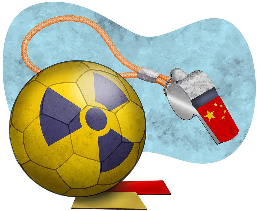 China Intercession with North Korea Illustration by Greg Groesch/The Washington Times