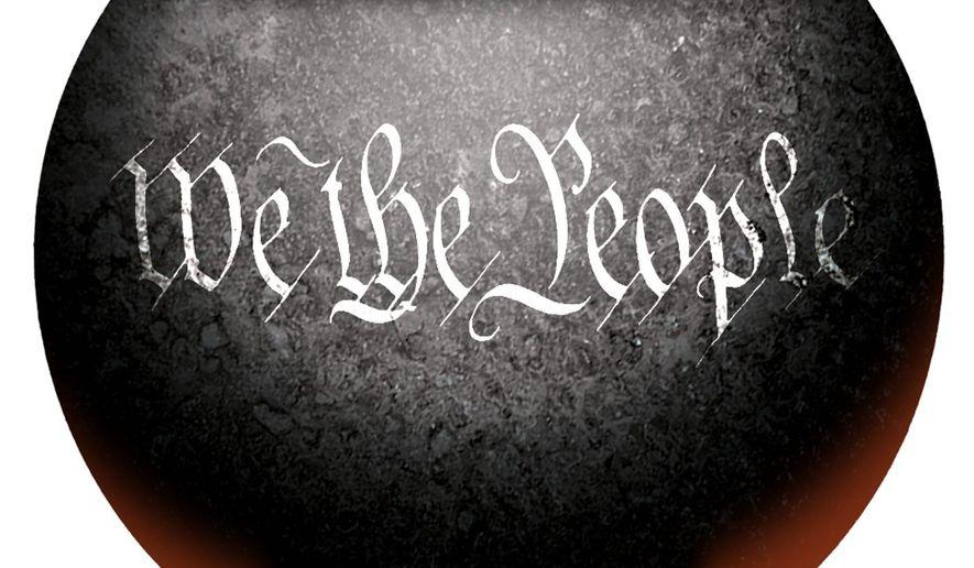 Illustration on the American melting pot by Alexander Hunter/The Washington Times