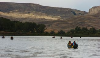 Interior Secretary Ryan Zinke said he believes the Upper Missouri River Breaks National Monument should be left alone. (Associated Press)
