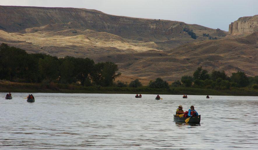 Interior Secretary Ryan Zinke said he believes the Upper Missouri River Breaks National Monument should be left alone. (Associated Press)