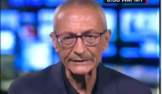 "John Podesta, Hillary Clinton's former campaign chairman, told CNN on Aug. 2, 2017, that he loses sleep ""every night"" because of President Trump's Electoral College victory. (Image: CNN screenshot)"