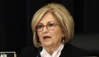 In this May 24, 2017, file photo, Rep. Diane Black, R-Tenn., presides over a House Budget Committee meeting in Washington. Black announced on Wednesday, Aug. 2, 2017, that she is joining the Tennessee governor's race. (AP Photo/Jacquelyn Martin, file)
