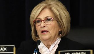 FILE - In this May 24, 2017, file photo, Rep. Diane Black, R-Tenn., presides over a House Budget Committee meeting in Washington. Black announced on Wednesday, Aug. 2, 2017, that she is joining the Tennessee governor's race. (AP Photo/Jacquelyn Martin, file)