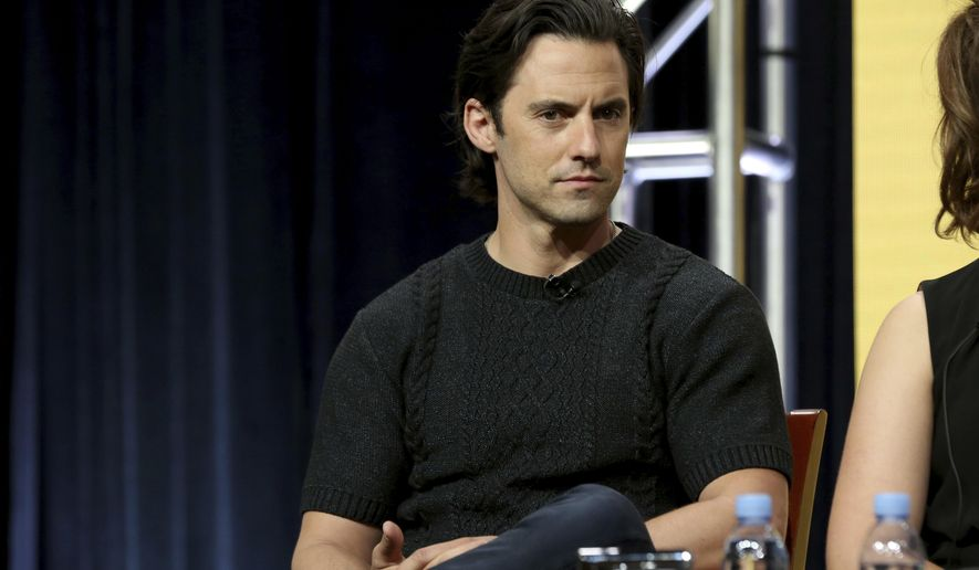 Milo Ventimiglia participates in the 'This Is Us' panel during the NBC Television Critics Association Summer Press Tour at The Beverly Hilton hotel on Thursday, Aug. 3, 2017, in Beverly Hills, Calif. (Photo by Willy Sanjuan/Invision/AP)