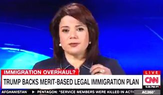 "CNN's Ana Navarro took part in a heated immigration debate on ""Anderson Cooper 360"" on Wednesday that prompted her to tell panelist Jeffrey Lord, ""It must be so nice to be a white male."" (Image: CNN screenshot)"