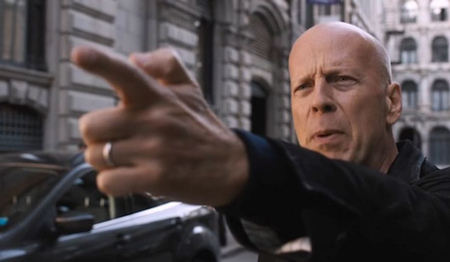 "Actor Bruce Willis stars in a remake of the 1974 classic ""Death Wish."" The latest version, directed by Eli Roth, hits theaters Nov. 22, 2017. (YouTube, Metro-Goldwyn-Mayer Pictures)"
