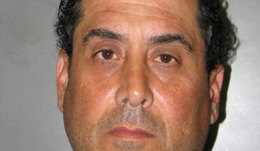 This photo provided by Montgomery Co Police shows John Vigna.  The former Maryland elementary school teacher is facing sentencing after being convicted of child sexual abuse charges involving inappropriate touching of several students.Sentencing, Friday, Aug. 4, 2017 for Vigna follows his conviction in June on four counts of sex abuse of a minor and five counts of third-degree sex offense. (Montgomery Co Police via AP)