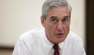 Special counsel Robert Mueller. (Associated Press) ** FILE **