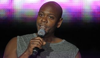Dave Chappelle acknowledged in his new special that some viewers were hurt by his barbs. He also said all the right things about not wishing violence on any member of the transgender community. He still didn't apologize or shy away from similar material. (Associated Press/File)