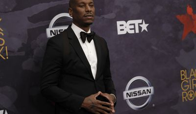 Tyrese Gibson attends the Black Girls Rock! Awards at the New Jersey Performing Arts Center on Saturday, Aug. 5, 2017, in Newark, N.J. (Photo by Charles Sykes/Invision/AP)