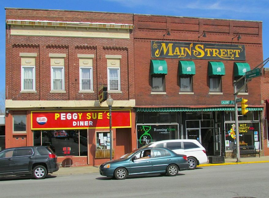 The numbers are clear: there's a glow on Main Street and a soaring stock market seven months into the Trump administration. (Photo of Main Street in Chesterton, Indiana, by Chris Light) (Chris Light)