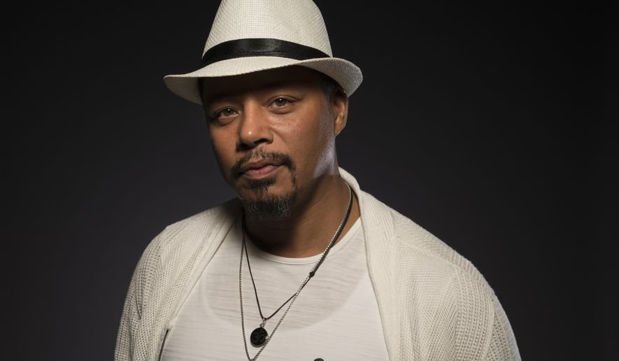"""Terrence Howard, a cast member in the FOX series """"Empire,"""" poses for a portrait during the 2017 Television Critics Association Summer Press Tour at the Beverly Hilton on Tuesday, Aug. 8, 2017, in Beverly Hills, Calif. (Photo by Ron Eshel/Invision/AP)"""