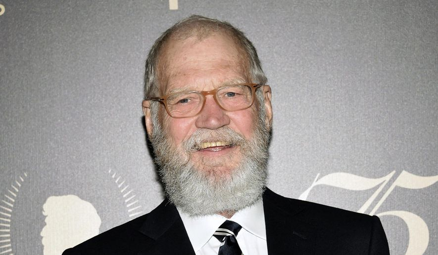In this May 21, 2016, file photo,David Letterman poses in the press room at the 75th Annual Peabody Awards Ceremony in New York. Letterman, who said goodbye to his long-running talk show two years ago, will say hello to TV again with a new show for Netflix. Netflix announced Tuesday, Aug. 8, 2017, that the six-episode series has Letterman combining two primary interests: in-depth conversations, and in-the-field segments sparked by his curiosity and humor. (Photo by Evan Agostini/Invision/AP, FIle)