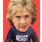 Illustration on Hillary and the resist movement      The Washington Times