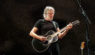 Roger Waters of Pink Floyd fame performs at the Verizon Center in Washington, D.C.  (Erica Bruce / Special to The Washington Times)